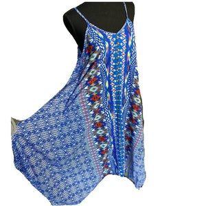 Shoreline Beach long boho colorful maxi dress